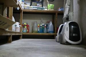 倉庫掃除も行いました