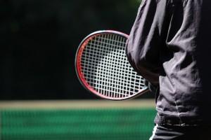 この日は天気も良く絶好のテニス日よりでした