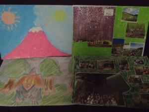 見えるはずだった富士山 、森の怪物、、、